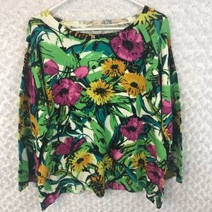 New ASOS Floral Knit Sweater
